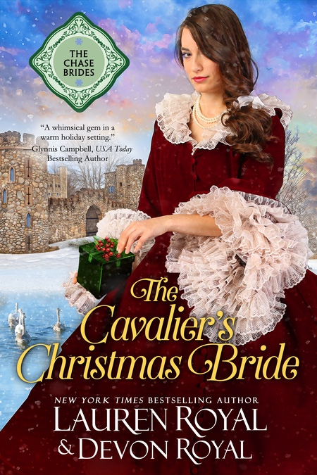 [Cover of The Cavalier's Christmas Bride]