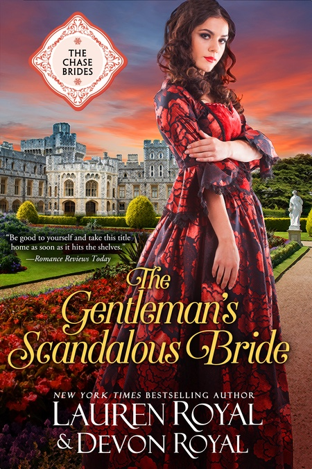 [Cover of The Gentleman's Scandalous Bride]