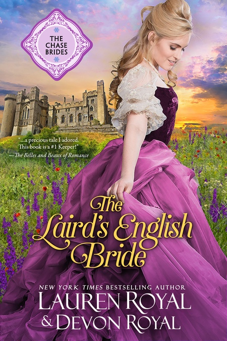[Cover of The Laird's English Bride]