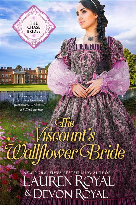 [Cover of The Viscount's Wallflower Bride]